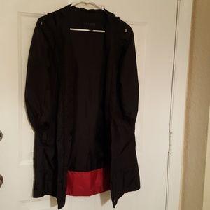Express zip front coat